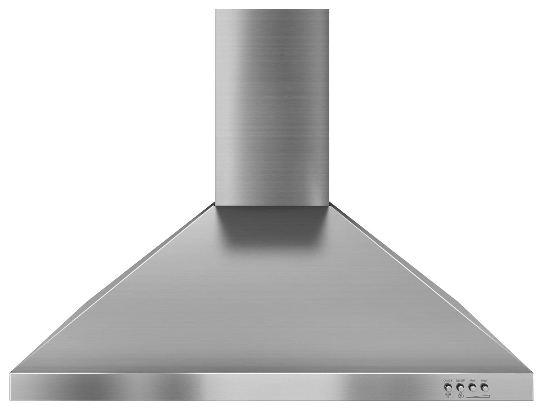 Whirlpool - 30 Externally Vented Range Hood - Stainless Steel (Silver)
