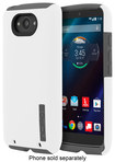 Incipio - DualPro Case for Motorola DROID Turbo Cell Phones - White/Gray