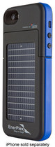 EnerPlex - Surfr Battery & Solar Case for Apple® iPhone® 5 and 5s - Blue