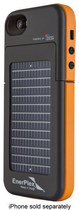 EnerPlex - Surfr Battery & Solar Case for Apple® iPhone® 5 and 5s - Orange