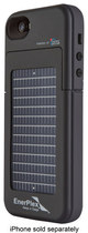 EnerPlex - Surfr Battery & Solar Case for Apple® iPhone® 5 and 5s - Black
