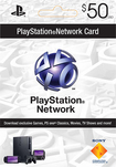 Sony - $50 PlayStation Network Digital Card