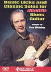 Basic Licks And Classic Solos For Electric Blues Guitar (dvd) 14189718