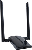 Amped Wireless - High Power 500mW Dual Band AC Wi-Fi USB Adapter - Black