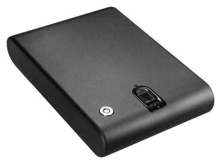 Barska Biometric Compact Portable Safe Black AX11970