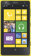 Nokia - Lumia 1020 4G LTE Cell Phone - Yellow (AT&T)
