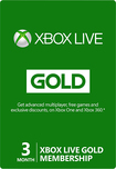 Microsoft - Xbox Live 3 Month Gold Membership - Green