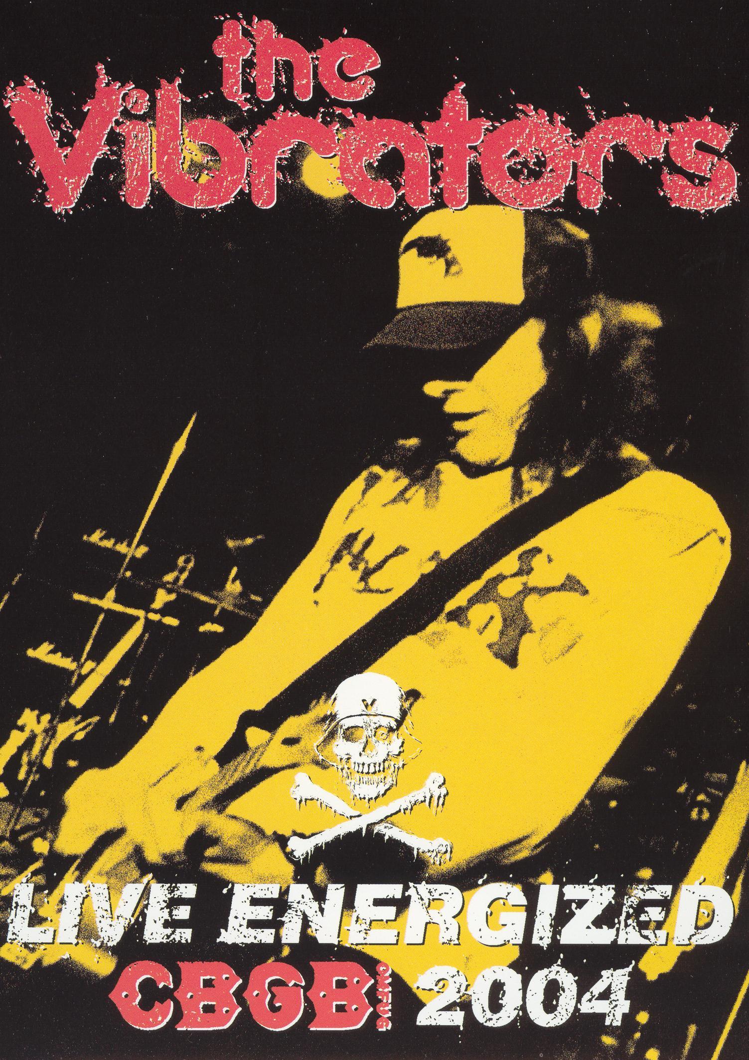 The Vibrators: Live Energized - Cbgb 2004 (dvd) 14302738