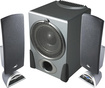 Cyber Acoustics - 2.1 Speaker System (3-Piece) - Black