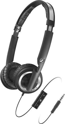 Sennheiser - Over-the-Ear Headphones - Black