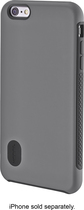 Modal - Hard Shell Case for Apple® iPhone® 6 Plus - Gray/Black