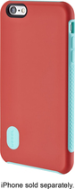 Modal - Hard Shell Case for Apple® iPhone® 6 Plus - Red/Blue