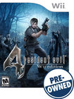 Resident Evil 4: Wii Edition — PRE-OWNED - Nintendo Wii