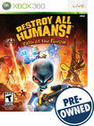 Destroy All Humans: Path of the Furon — PRE-OWNED - Xbox 360