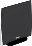 TERK - Omnidirectional Flat-Panel HDTV Indoor Antenna - Black