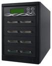 Spartan - 7-Target CF I/II/Microdrive Memory Card Duplicator - Black