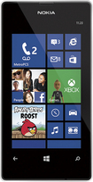MetroPCS - Nokia Lumia 521 4G No-Contract Cell Phone - White