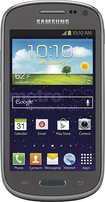 MetroPCS - Samsung Galaxy Exhibit 4G No-Contract Cell Phone - Gray