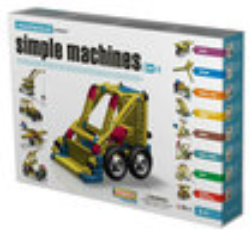 Engino - 8-in-1 Simple Machines Set - Multi