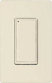 WorksWith - In-Wall On/Off Switch - Light Almond