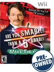 Are You Smarter Than a 5th Grader?: Make the Grade — PRE-OWNED - Nintendo Wii