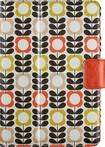 Belkin - Orla Kiely Cover for Apple® iPad® mini, iPad mini 2 and iPad mini 3 - Summer Flower Orange