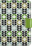 Belkin - Orla Kiely Cover for Apple® iPad® mini, iPad mini 2 and iPad mini 3 - Summer Flower Blue