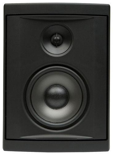 Boston Acoustics - Voyager 40 4-1/2 2-Way Outdoor Speakers (Pair) - Black