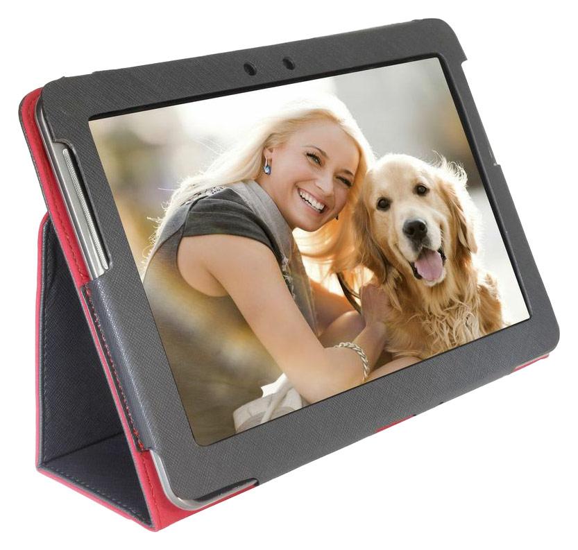 Digital Treasures - Props Folio Case for Samsung Galaxy Tab 2 10.1 - Black