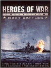 Heroes of War Collection: Navy Battles [4 Discs] (DVD) (Full Screen/Enhanced Widescreen for 16x9 TV/Black & White) (Eng/Fre/Spa)