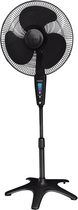 "Honeywell - QuietSet 16"" Stand Fan - Black"