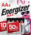 Energizer - MAX Batteries AA (4-Pack)
