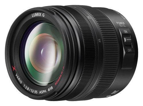 Panasonic - Lumix G X Vario 12-35mm f/2.8 Zoom Lens for Select Panasonic Cameras - Black