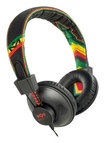 Marley - Positive Vibrations Jammin' Collection On-Ear Headphones - Rasta