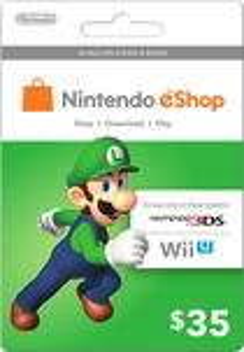 Nintendo - Nintendo eShop Prepaid Card ($35) - Green