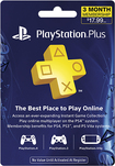 Sony - PlayStation Plus 3-Month Membership - Blue