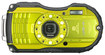 Ricoh - WG-4 16.0-Megapixel Digital Camera - Lime Yellow