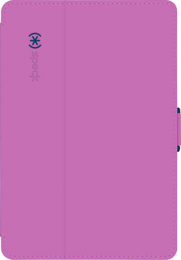 Speck - StyleFolio Case for Apple® iPad® mini, iPad mini 2 and iPad mini 3 - Beaming Orchid Purple/Deep Sea Blue