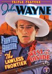 John Wayne, Vol. 3: Frontier Horizon/the Lawless Frontier/west Of The Divide (dvd) 15090535