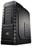 Cooler Master - HAF X Ultimate Full-Tower Chassis - Black