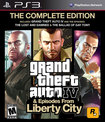 Grand Theft Auto IV: The Complete Edition - PlayStation 3