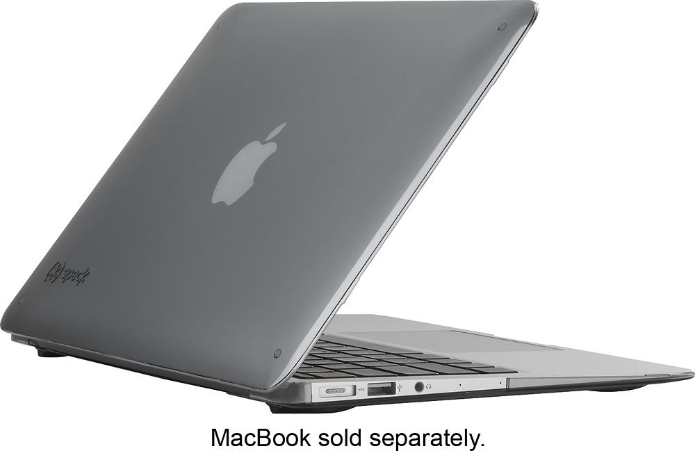 "Speck - SmartShell Case for 11"" Apple® MacBook® Air - Gray"