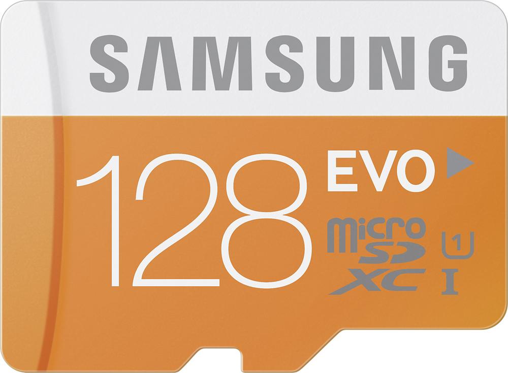 Samsung - 128GB microSD Class 10 Memory Card - Multi
