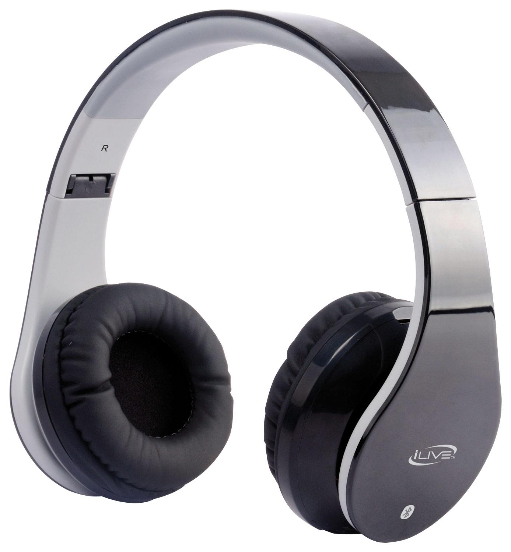 iLive - Wireless Over-the-Ear Headphones - Black