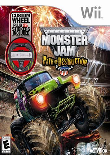 Monster Jam: Path of Destruction - Nintendo Wii