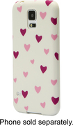 Dynex™ - Case for Samsung Galaxy S 5 Cell Phones - Purple/White