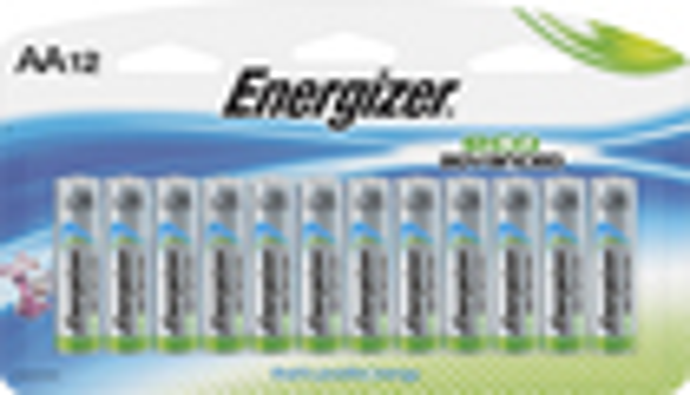 Energizer - EcoAdvanced AA Batteries (12-Pack) - Multi