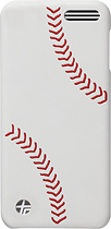 Trexta - Baseball Snap-On Case for 16GB Apple® iPod® touch 5th Generation - White