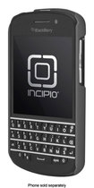 Incipio - feather Snap-On Case for BlackBerry Q10 Cell Phones - Charcoal Gray