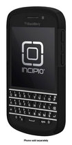 Incipio - DualPro Case for BlackBerry Q10 Cell Phones - Black